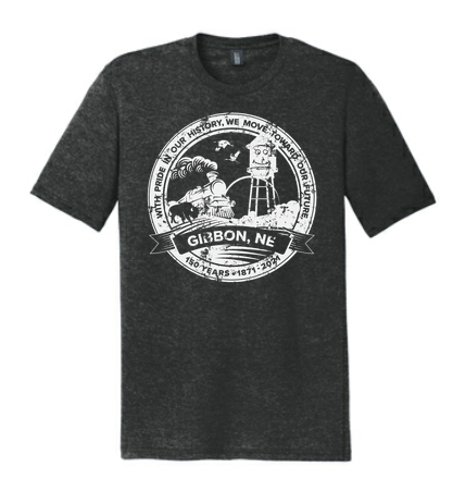 150th Anniversary T-Shirt-Frost Black